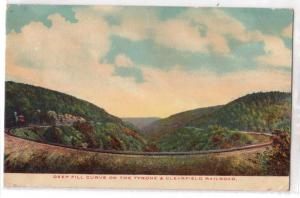 Curve, Tyrone & Clearfield Railroad PA