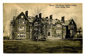 MA - South Hadley. Mt Holyoke College, Skinner Hall