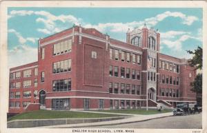 LYNN, Massachusetts; English High School, PU-1922