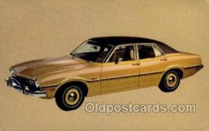 1973 maverick 4 door sedan Automotive, Car Vehicle, Old, Vintage, Antique Pos...