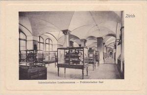 Interior, Schweizerisches Landesmuseum, Prahistorischer Saal, Zurich, Switzer...
