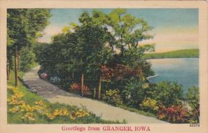 Greetings From Granger Iowa 1949