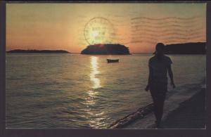 Sunset Florida Keys Postcard BIN