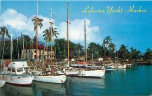 Boats 1950s Picturesque Harbor Postcard Yachts Roberts 12708