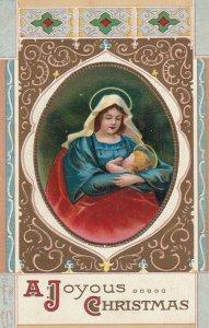 CHRISTMAS, 1900-10s; Virgin Mary & Baby Jesus