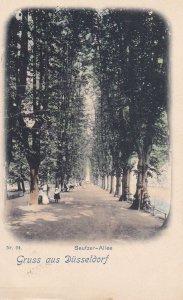 Gruss aus DUSSELDORF, North Rine-Westphalia, Germany; Seufzer-Allee, 00-10s