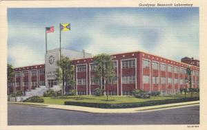 Exterior, Goodyear Research Laboratory,  Akron,  Ohio,  30-40s
