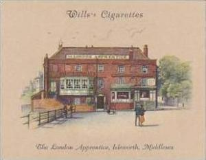 Wills Cigarette Card 2nd Series No 23 London Apprentice Isleworth Middlesex