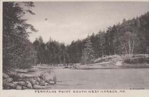 Maine Southwest Harbor Fernalds Point Albertype