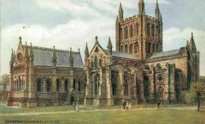 Hereford Cathedral from North East Postcard