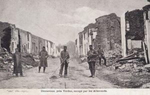 DANNEVOUX , France , 1914-18 ; pres Verdun , occupe par les Allemands