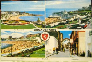 England Broadstairs Bandstand York Gate Victoria Gardens Sands - unposted