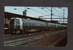 NJ Penn Central Metroliner Railroad Train Trenton Station Depot New Jersey PC