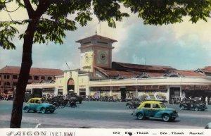 RP ; SAIGON (Viet Nam) , 1964 ; Ben Thanh Market