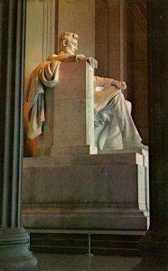 Washington D C Lincoln Statue Lincoln Memorial