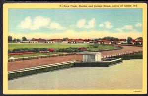 Race Track,Stables and Judges Stand,Havre de Grace,ND BIN