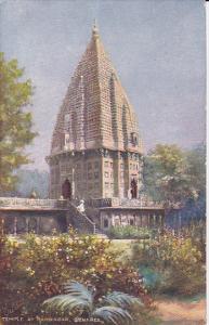 TUCK #7239, Temple Of Ramnagar, Benares, India, PU-1906