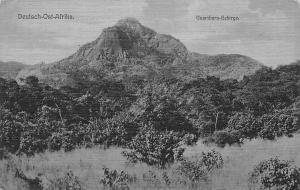 German East Africa Tanzania D.O. Afrika, Usambara-Gebirge Mountains, Postcard