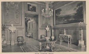 The King Kings Ante Throne Room Windsor Castle Rare Antique Tucks Mint Postcard
