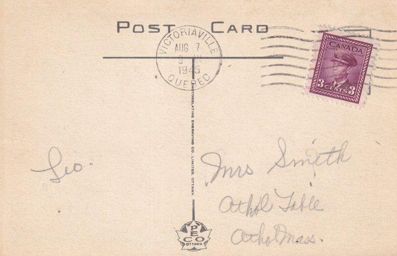 VICTORIAVILLE, Quebec, Canada, PU-1945; College Du Sacre, Sacred Heart College