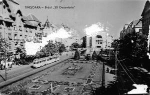 B18034 Chemin de fer Old tramway Tram Timisoara