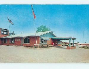 Pre-1980 PARKVIEW MOTEL & RESTAURANT IN GUELPH Ontario Canada j5873