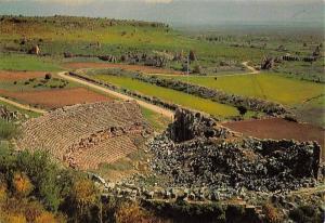 Turkey Cennet Sehir Antalya Perge (Murtuna) Tiyatro The Theatre Ruins