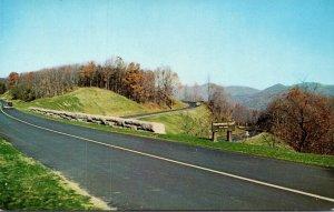 Virginia Humphrey's Gap Crest Of The Blue Ridge Near Buena Vista