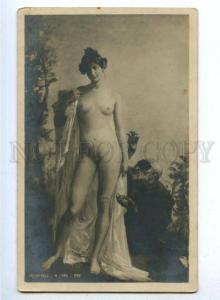 176614 NUDE Woman EVE & Devil by LARD Vintage SALON 1905 PC