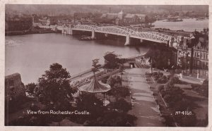 RP; ROCHESTER, Kent, England, 1920-1940s; View From Rochester Castle