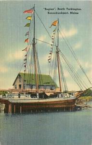 ME, Kennebunkport, Maine, Booth Tarkington, Regina, Tichnor No. 65560