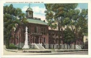 County Bldg, Auburn ,  Maine, 1900-10s
