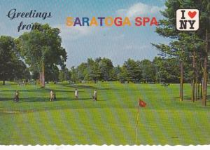 New York Saratoga Spa Golf Course