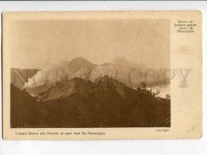 271036 INDONESIA HOLLAND INDIA Vulcano Bromo & Smeroe Vintage