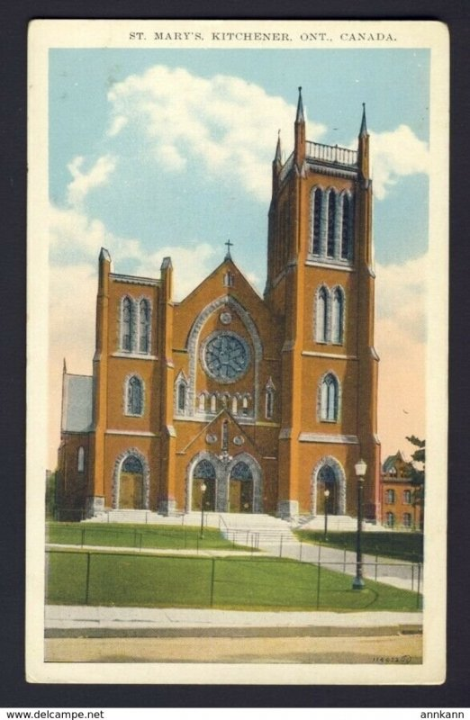 St. Mary's Kitchener Ontario Canada - Roman Catholic Church