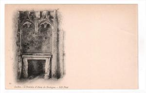 LOCHES, France, 1900-1910's; L'Oratoire D'Anne De Bretagne