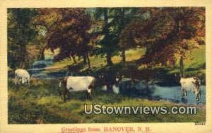 Greetings From Hanover NH Unused