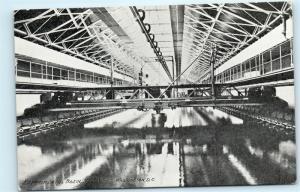 Experimental Basin Navy Yard Washington DC Vintage Postcard D93