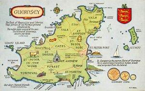 Maps Guernsey 1964
