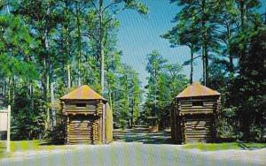 Entrance To Fort Raleigh National Historic Site On Roanoke Island North Carolina