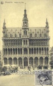 Bruxelles, Belgium, België, la Belgique, Belgien Maison du Roi  Maison du Roi