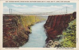 Hansen Bridge, Snake River, Southern Idaho 345 ft. High, 688 ft. long, Cost $...
