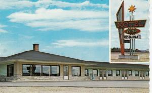 GRAND FALLS, New Brunswick , Canada , PU-1987 ; Motel Leo and Restaurant