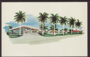 Driftwood Motor Lodge.Fort Myers,FL Postcard