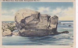 Rhode Island Narragansett Pier Old Man's Face Point Judith 1945