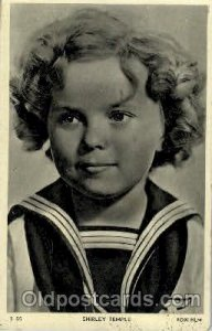Shirley Temple Actress Movie Star Unused