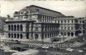 Wien, Vienna Austria, Österreich Staatsoper  Staatsoper