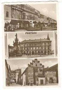 RP: Prešov , Slovakia, PU-1938 ; 3-view postcard