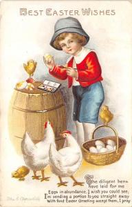 Artist Ellen Clapsaddle Easter Post Card 1916