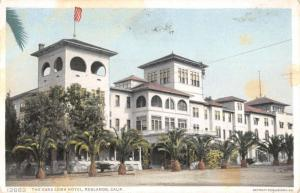 Redlands California Casa Loma Hotel Street View Antique Postcard K54362